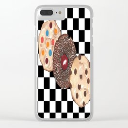 Eat Cookies Clear iPhone Case