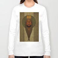 queen Long Sleeve T-shirts featuring Queen by Everton Blake Jamaican Yardy Paradise