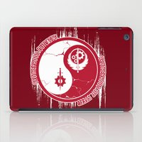 fallout iPad Cases featuring Opposing Fallout by Morisato