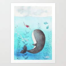 I found you! Art Print