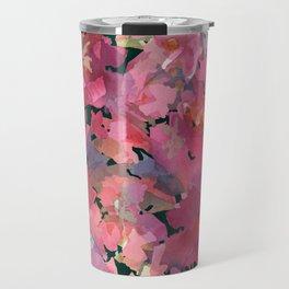 Red Rose Garden Travel Mug