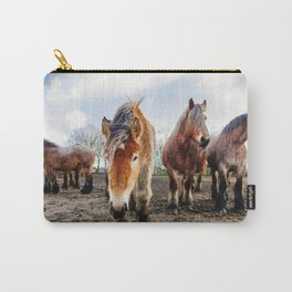 Belgian Draft Horse Carry-All Pouch