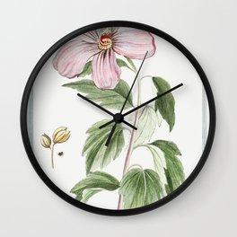 Rose of Sharon (ca 1772 -1793) by Giorgio Bonelli Wall Clock