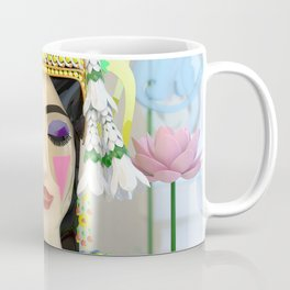 The Meditating Apsara Coffee Mug
