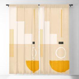 Minimal Geometric Shapes 49 Blackout Curtain