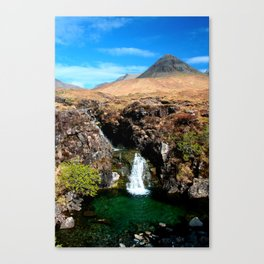 The Black mountains, Skye. Scotland Canvas Print