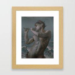 Sandpiper Pan  Framed Art Print