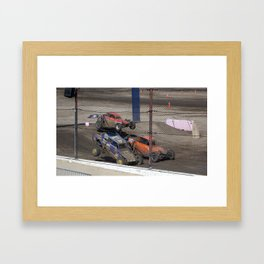 No there not Baby Buggies. Framed Art Print