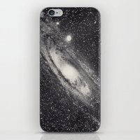 astronomy iPhone & iPod Skins featuring Vintage Astronomy-Nebula M31 Andromeda by lacelace