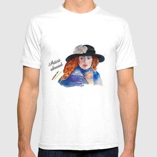Artist Abroad T-shirt