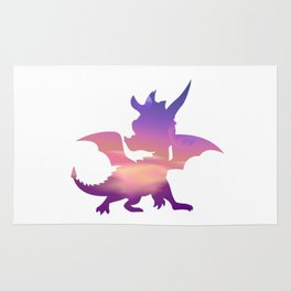Spyro Lofty Castle Skybox Rug