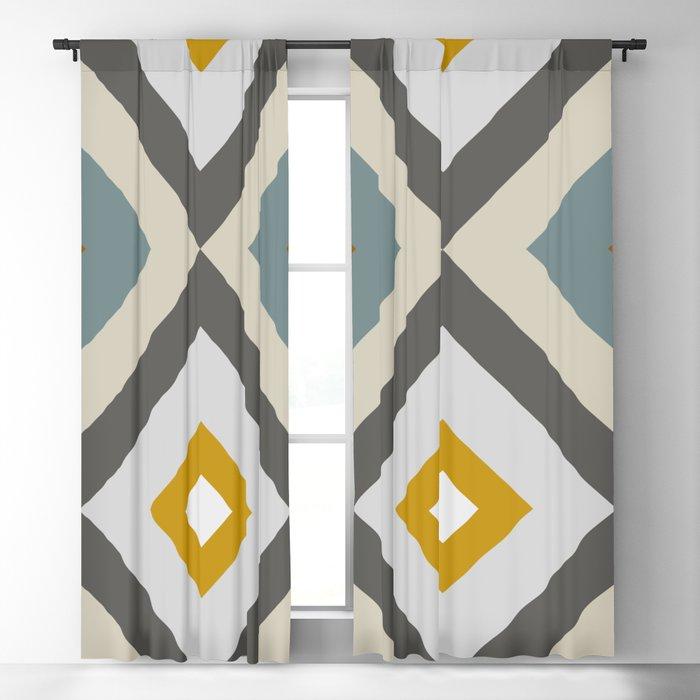 Mid West Geometric 04 Blackout Curtain