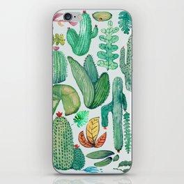Watercolor Nature iPhone Skin