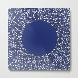 Starstruck Blue Metal Print