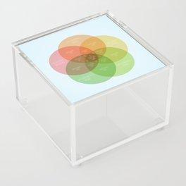 Ice Cube - It Was A Good Day Venn Diagram Acrylic Box