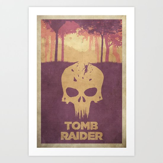 Sacrifices - Tomb Raider 2013 Poster Art Print