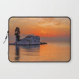 Sunrise in COrfu Greece Laptop Sleeve