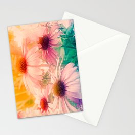 Happy Summerflowers Pastell Stationery Cards