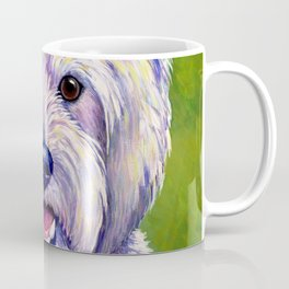 Colorful West Highland White Terrier Dog Coffee Mug