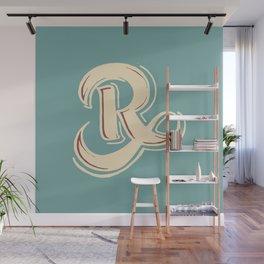 R Wall Mural