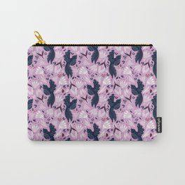 Birds & Bugs in Orchid Carry-All Pouch