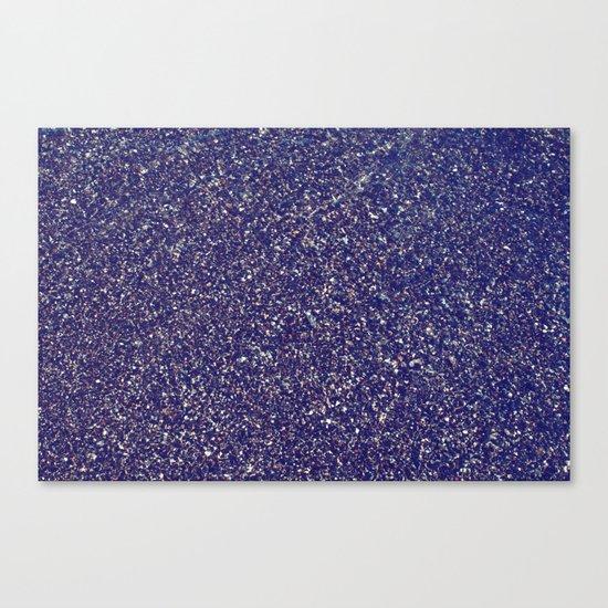 Black Sand III (Rose) Canvas Print