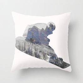 Last Ride Throw Pillow