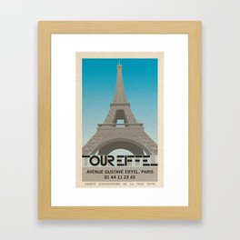 Tour Eiffel Framed Art Print
