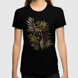 Aechmea Fasciata - Dark Green / Brown T-shirt