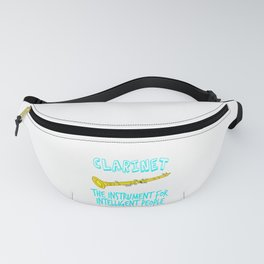 """""""The Instrument For Intelligent People"""" tee design. Perfect for wise and gifted like you!  Fanny Pack"""