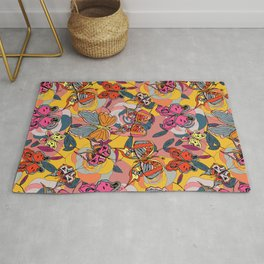 Psychedelic Butterflies: Daytime Rug