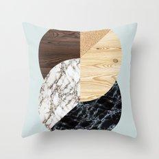 Geometric composition IV Throw Pillow