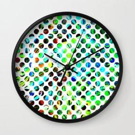 Fluid Dot Wall Clock