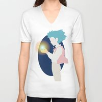 howl V-neck T-shirts featuring Howl by Polvo