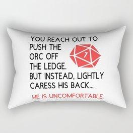 Dungeons and dragons gift Rectangular Pillow