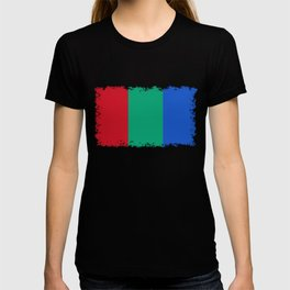 Flag of the planet Mars - Diff TEE version T-shirt