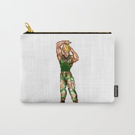 Guile Winning Pose Carry-All Pouch