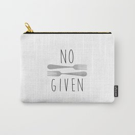 No Forks Given Carry-All Pouch