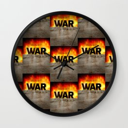 It's War Wall Clock