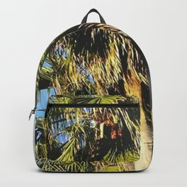 Meet me by the palm trees Backpack