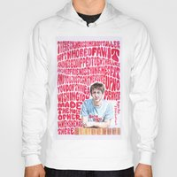 arctic monkeys Hoodies featuring Bigger Boys and Stolen Sweethearts - Arctic Monkeys by Frances May K