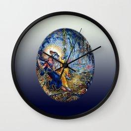 Krishna Leela Wall Clock