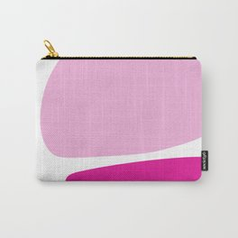 Fun retro style abstract print in soft pastel colours Carry-All Pouch