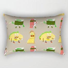 Feed Me- character pattern Rectangular Pillow