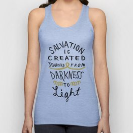 Salvation is Created Unisex Tank Top