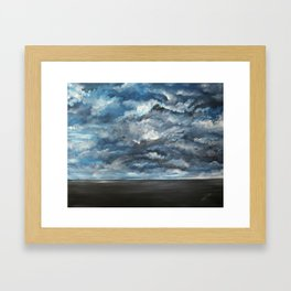 The Sun is Coming (Lista) by Gerlinde Framed Art Print
