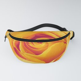 Gold Rose Bud- Yellow Roses and flowers Fanny Pack