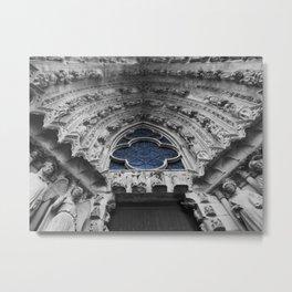 Gothic Symmetry Metal Print