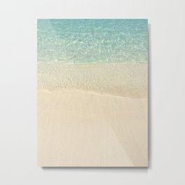 Beach Please! Metal Print
