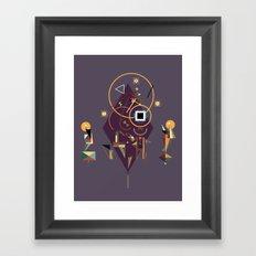 ka Framed Art Print